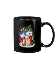 Cat Dog and Snowman Mug thumbnail