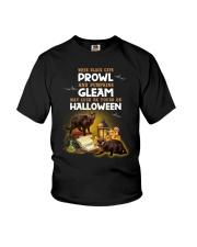 Black Cat Prowl 2707 Youth T-Shirt thumbnail