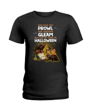 Black Cat Prowl 2707 Ladies T-Shirt thumbnail