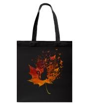 Autumn Cat Tote Bag thumbnail