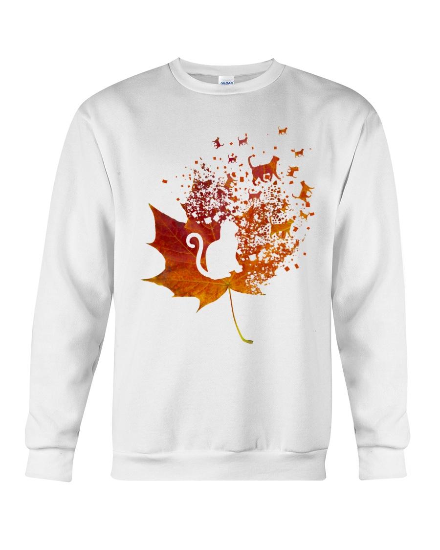 Autumn Cat Crewneck Sweatshirt