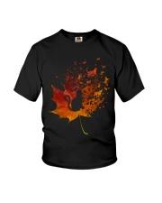 Autumn Cat Youth T-Shirt thumbnail