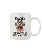 Cats And Books Mug tile