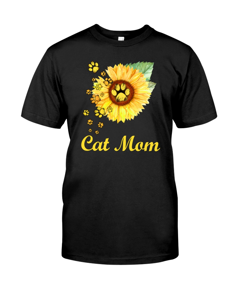 Cat Mom Classic T-Shirt