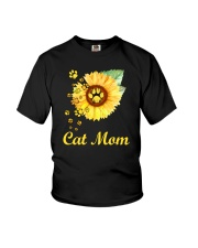 Cat Mom Youth T-Shirt thumbnail
