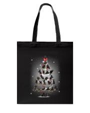 Black Cats Pine Tree 1709 Tote Bag thumbnail