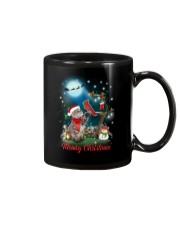 Cat and Cardinal Xmas Mug thumbnail