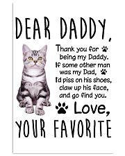 American Shorthair Dear Daddy 1412 11x17 Poster front