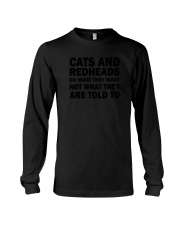 Cat and Redhead 130319 Long Sleeve Tee thumbnail