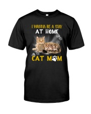 Apollo Cat Mom Family Classic T-Shirt front