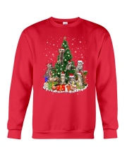 Cat Christmas Tree 2709 Crewneck Sweatshirt front