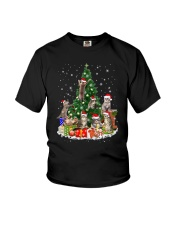 Cat Christmas Tree 2709 Youth T-Shirt thumbnail