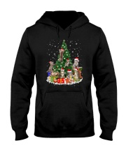 Cat Christmas Tree 2709 Hooded Sweatshirt thumbnail