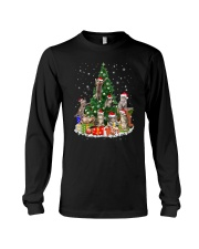 Cat Christmas Tree 2709 Long Sleeve Tee thumbnail
