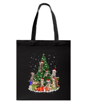 Cat Christmas Tree 2709 Tote Bag thumbnail