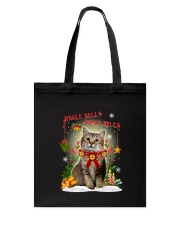 Cat Jingle bells Tote Bag thumbnail