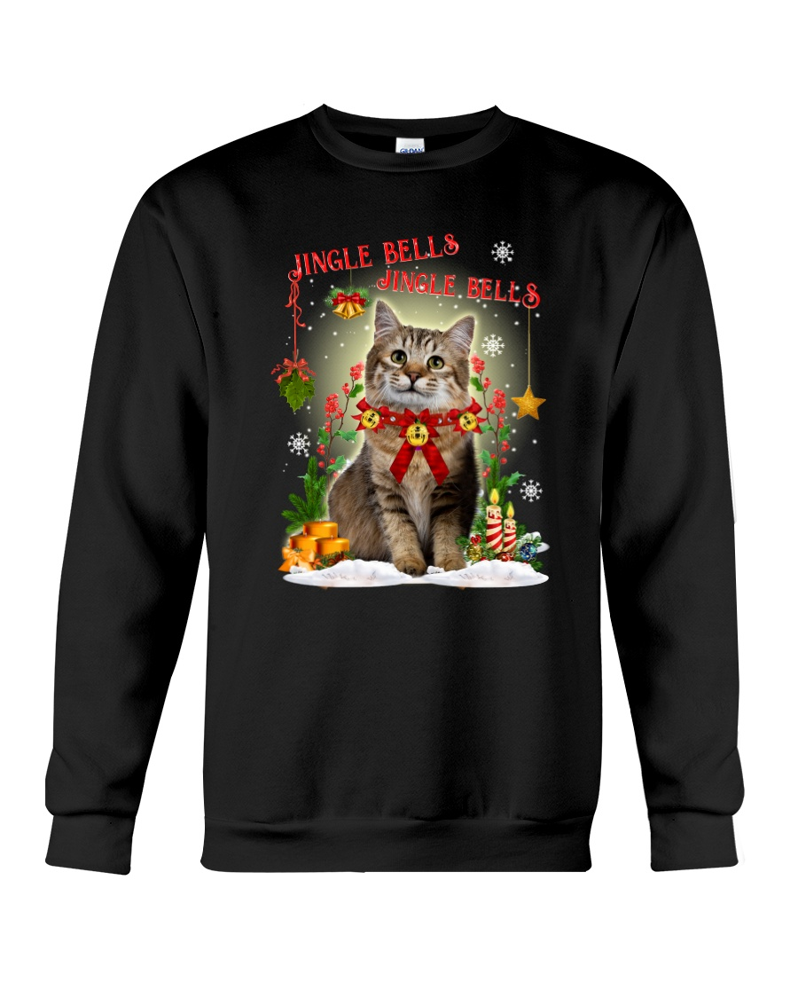 Cat Jingle bells Crewneck Sweatshirt