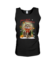 Cat Jingle bells Unisex Tank thumbnail