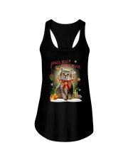 Cat Jingle bells Ladies Flowy Tank thumbnail