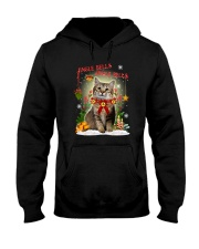 Cat Jingle bells Hooded Sweatshirt thumbnail
