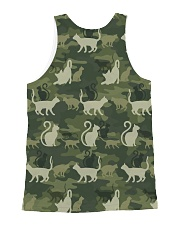 Cat Camo All-over Unisex Tank back