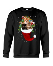 Happy Hat Cats Crewneck Sweatshirt front