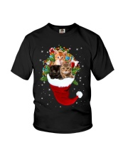 Happy Hat Cats Youth T-Shirt thumbnail