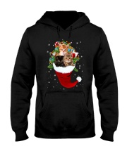 Happy Hat Cats Hooded Sweatshirt thumbnail
