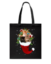 Happy Hat Cats Tote Bag thumbnail