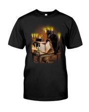 Black Cat Magic 1708 Classic T-Shirt front