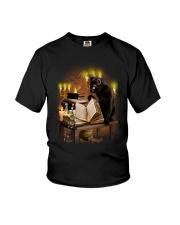 Black Cat Magic 1708 Youth T-Shirt thumbnail