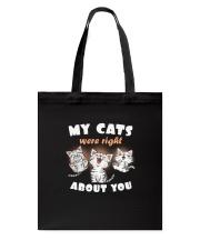 My Cats Tote Bag thumbnail