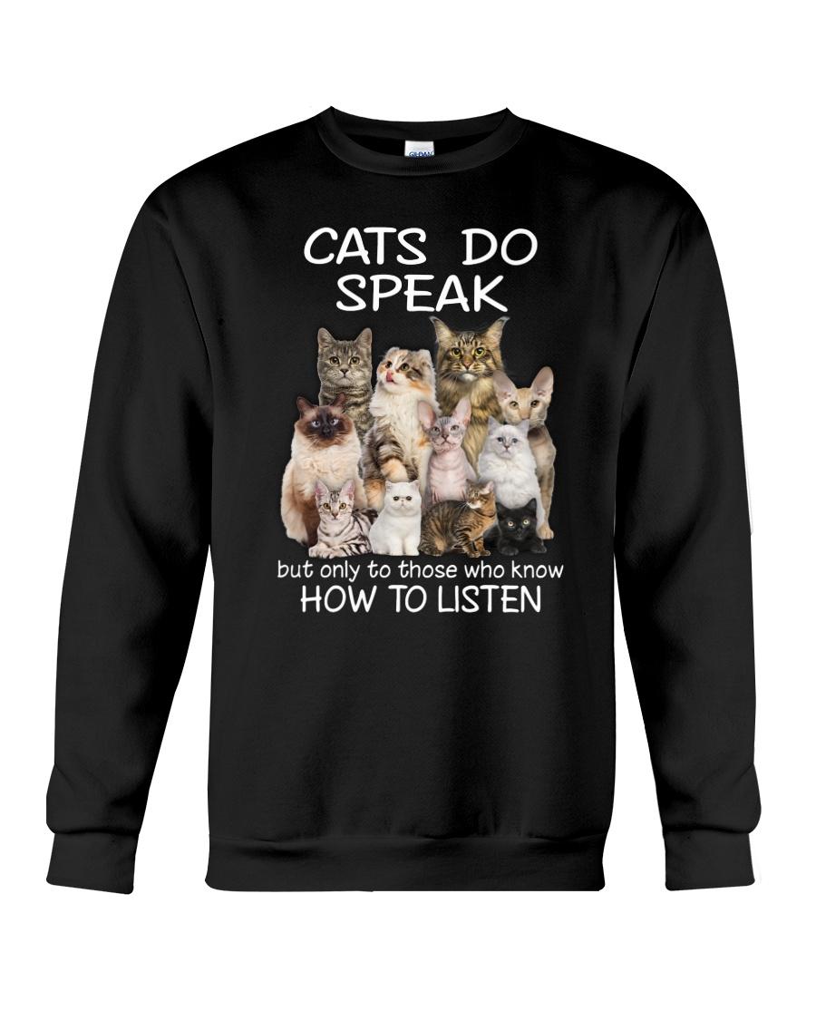 Cats do speak 1809 Crewneck Sweatshirt