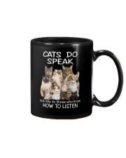 Cats do speak 1809 Mug thumbnail