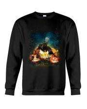 Black Cat Halloween Crewneck Sweatshirt thumbnail