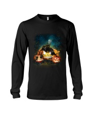 Black Cat Halloween Long Sleeve Tee thumbnail