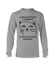 Cat Face Long Sleeve Tee thumbnail