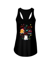 Cat - Hohoho Ladies Flowy Tank thumbnail