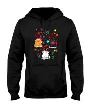 Cat - Hohoho Hooded Sweatshirt thumbnail