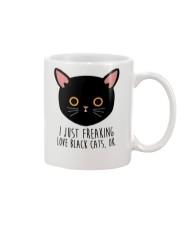 Love Black Cats Mug front