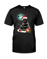 Black Cat Snow Wind 2209 Classic T-Shirt thumbnail