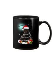 Black Cat Snow Wind 2209 Mug thumbnail