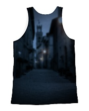 Black Cat And Butterfly All-over Unisex Tank back