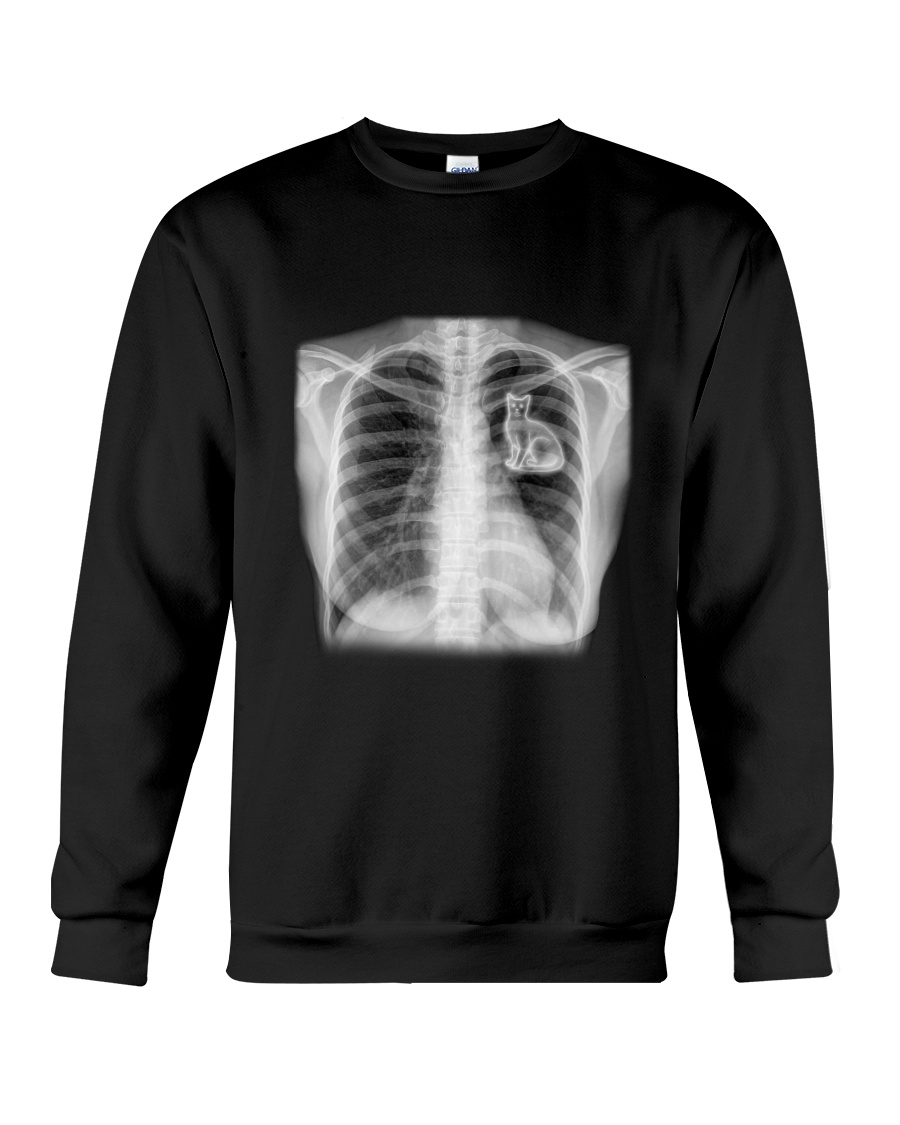 Skull Cat  Crewneck Sweatshirt