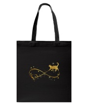 Cat bling and heart Tote Bag tile