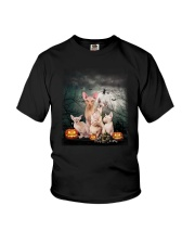 Sphynx Halloween Youth T-Shirt thumbnail