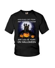 Black cat prowl 3007 Youth T-Shirt thumbnail