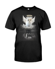 Cat Angel And Devil Classic T-Shirt front