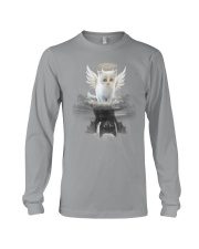 Cat Angel And Devil Long Sleeve Tee thumbnail
