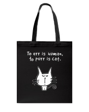 Purr Is Cat Tote Bag thumbnail